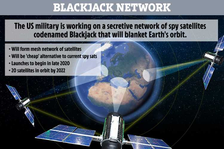 Darpa is about to launch US military 'satellite space swarm' just like Elon Musk's Starlink