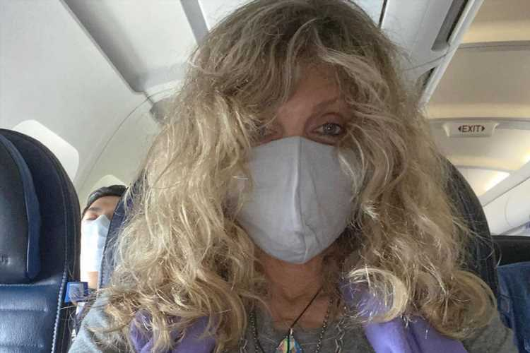 Marla Maples Chooses 'Love' Not 'Fear' in Mask Photo on Flight to See Tiffany — and Draws Criticism