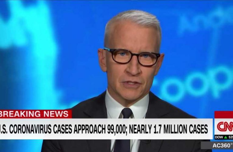 Anderson Cooper Unloads on Trump Over Falsehoods and Conspiracy Theories: 'What a Little Man'