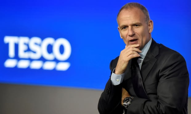 Moving pay goalposts for Tesco's Dave Lewis is slippery behaviour