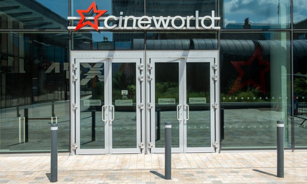 Cineworld plans to reopen all UK cinemas in July