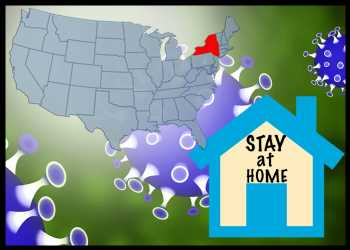 New York Extends Stay-at-home Order Until June 13