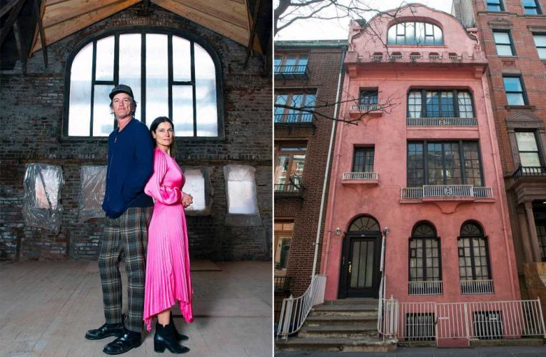 The Novogratz to resume work on iconic pink Manhattan townhouse