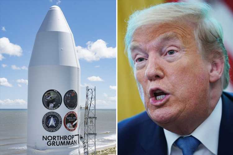 US Space Force to launch 'classified' spy satellite for top-secret agency at Nasa base TODAY