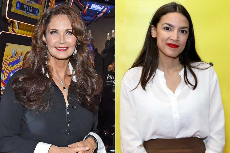 Wonder Woman's  Lynda Carter Tells Alexandria Ocasio-Cortez to 'Never Stop Being Fierce'