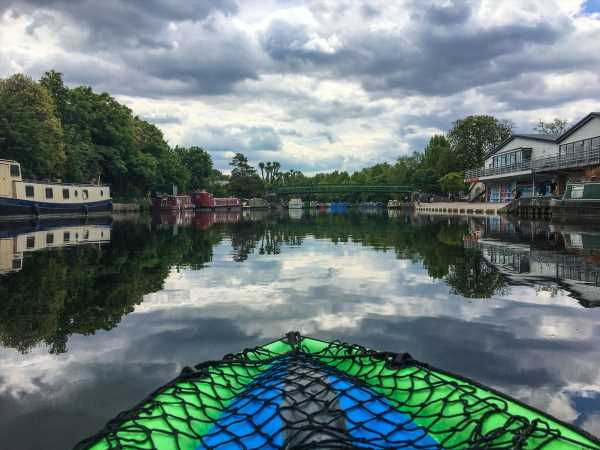 Want to SeeLondon the Socially Distant Way?Try Kayaking the Canals