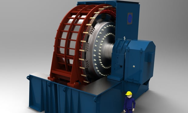Giant flywheel project in Scotland could prevent UK blackouts