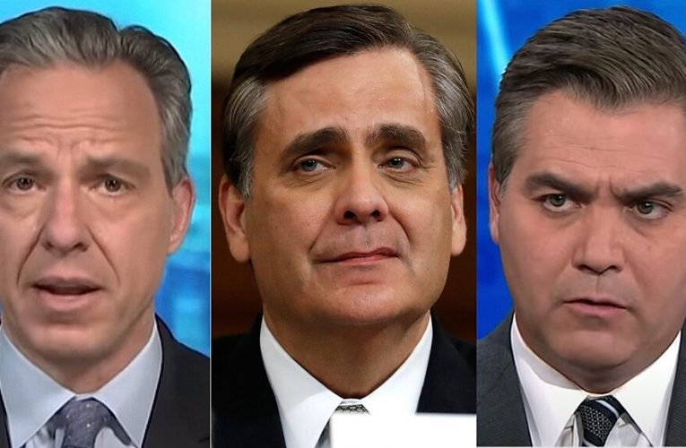 Jonathan Turley calls out CNN's 'telling moment of dissonance' amid unrelenting anti-Trump coverage
