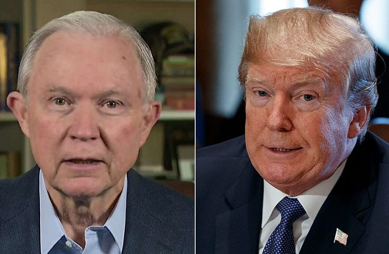Jeff Sessions dismisses Trump's 'juvenile insults': 'My honor and integrity are far more important'