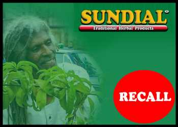 Sundial Herbal Products Since 2014 Recalled After Federal Order