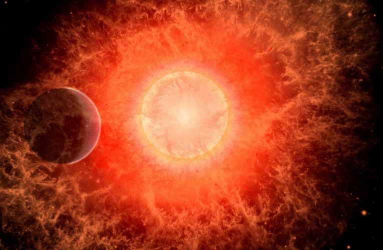 Exploding star blamed for Earth's 'mass-extinction' 360million years ago – despite being 65 LIGHT-YEARS away