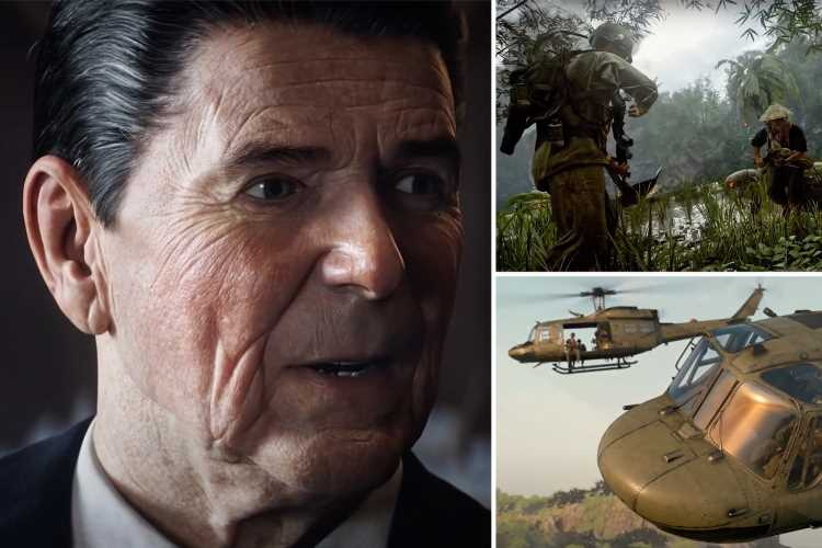 New Call of Duty Black Ops Cold War trailer reveals 'lifelike' Ronald Reagan & peek at multiplayer