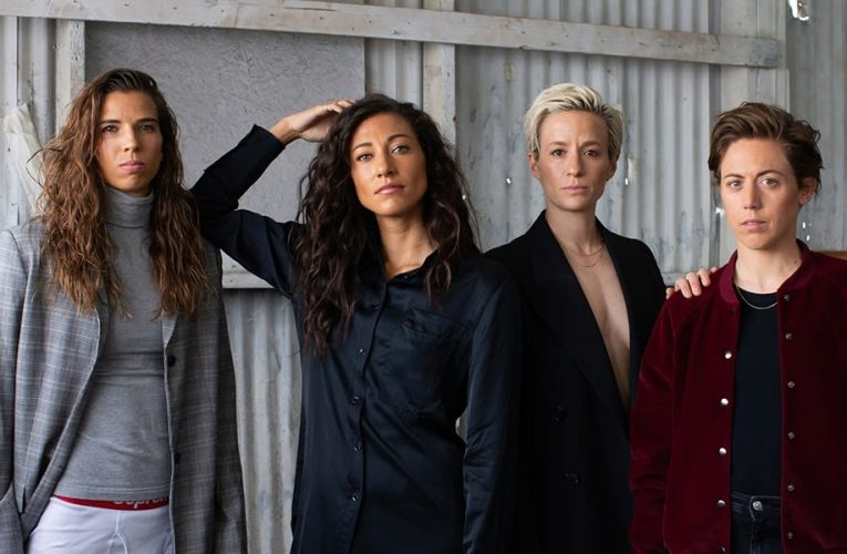USWNT players Christen Press and Tobin Heath on entrepreneurship, equal pay and knowing their worth
