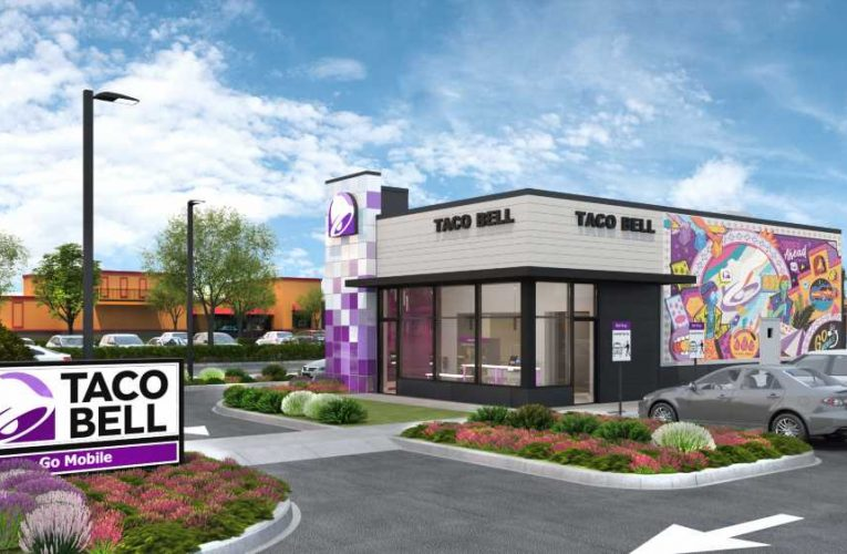 Taco Bell unveils new design with more drive-thrus as pandemic permanently shifts how we order