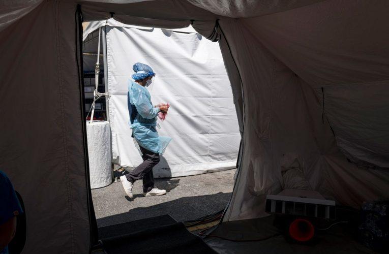 U.S. Health Chief Visits Taiwan; H.K. Testing Push; Virus Update