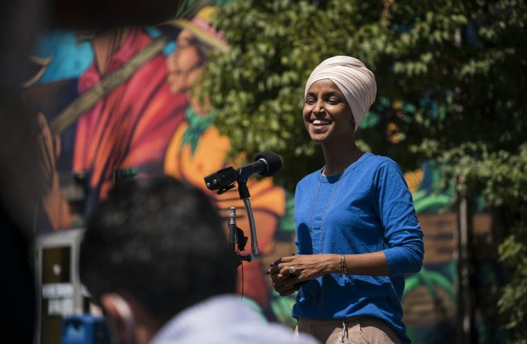 Progressive Omar Fends off Challenge to Win Democratic Primary