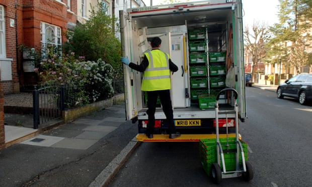Pandemic prompts doubling of online grocery shoppers in UK