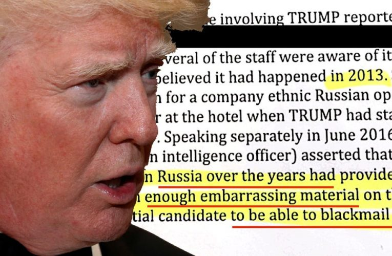 The Trump administration reportedly quashed part of an intelligence report that showed Russia is helping him win the 2020 election