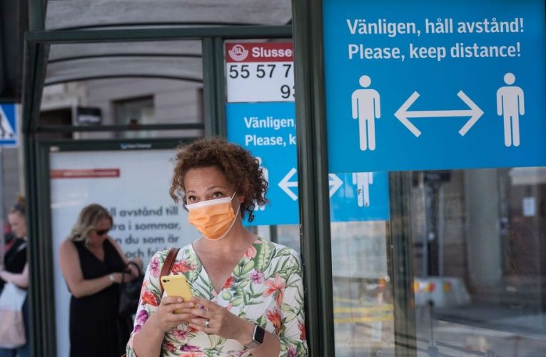 Sweden's controversial top epidemiologist is refusing to recommend face masks, claiming it's 'very dangerous to believe face masks would change the game'