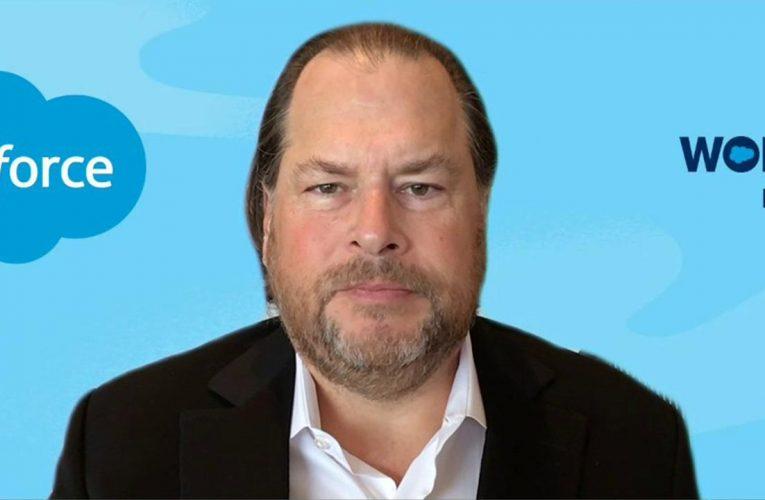 Salesforce lifts full-year revenue outlook as customers work online