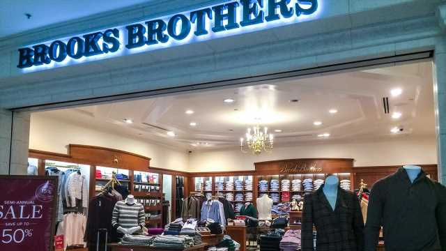 Brooks Brothers poised to be acquired by Authentic Brands-Simon venture