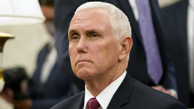 Pence, in switch, rips Biden and Kenosha violence, stays silent on police shooting
