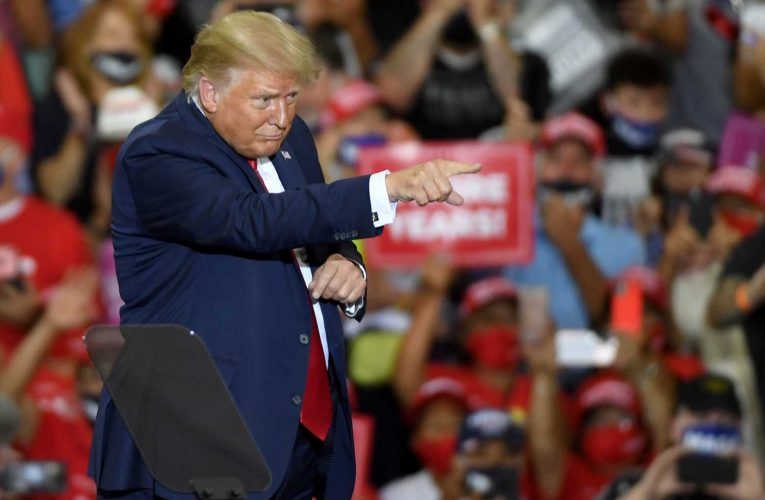 Trump Instigates 'Lock Him Up' Chant For Obama At Rally