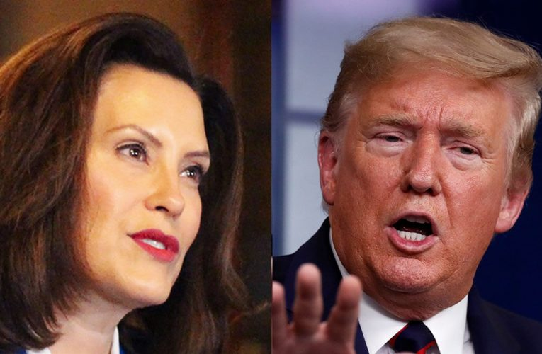 Trump says Michigan's Whitmer 'doesn't have a clue' after she calls him 'biggest threat' to US