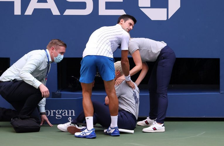 NovakDjokovic Out of U.S. Open After Hitting Line Judge With Ball