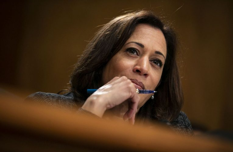 Biden Likely to Tap Kamala Harris to Prosecute Trump Court Pick