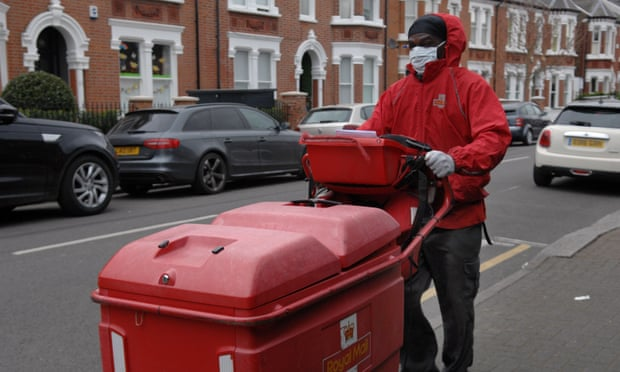Royal Mail set for loss despite parcels booming in Covid crisis