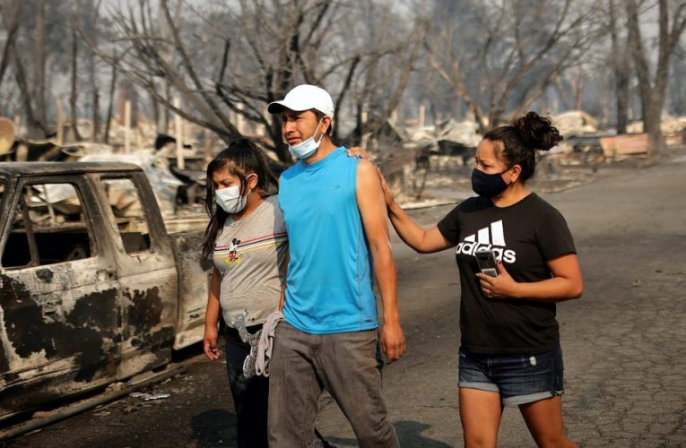 Oregon officials said they are preparing for a 'mass fatality incident' as 500,000 people stand in evacuation zones from the wildfires ravaging the West Coast