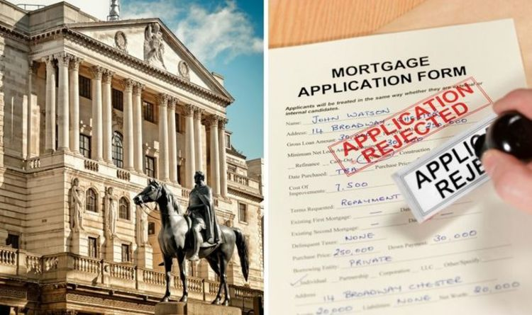 Mortgage agreement chances 'between slim and zero' for these buyers according to BoE data
