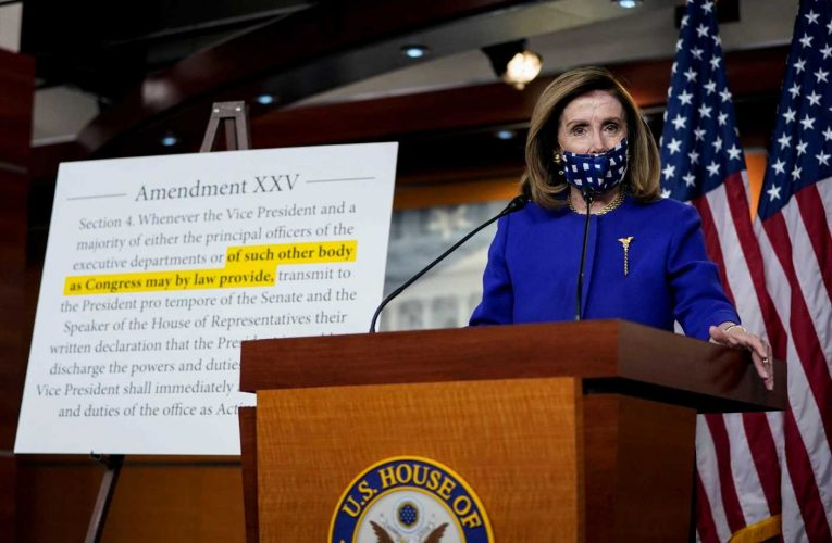 Pelosi Unveils 25th Amendment Bill To Clarify How To Remove Presidents From Office