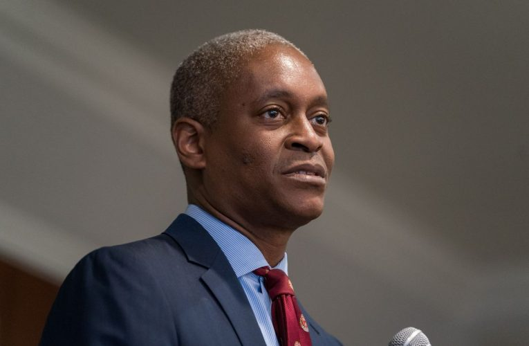 Fed's Bostic Cautions That U.S. Economic Recovery Is Very Uneven