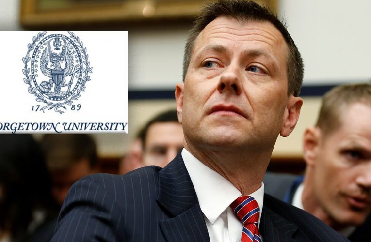 Georgetown University hires Peter Strzok to teach at foreign service school