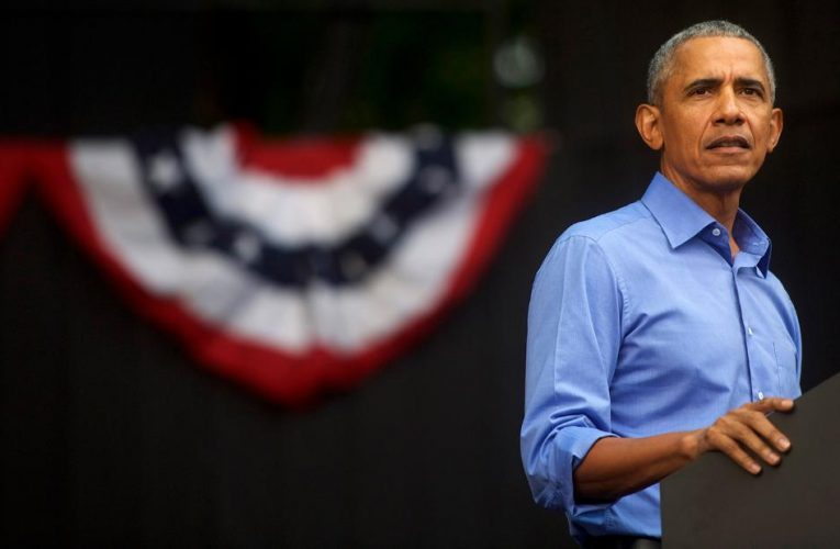 Obama: Trump's call for indictment was 'absurd'