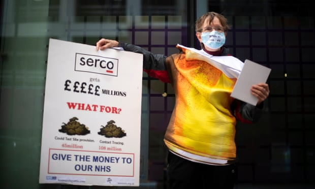Serco profits surge thanks to Covid-19 test-and-trace contract
