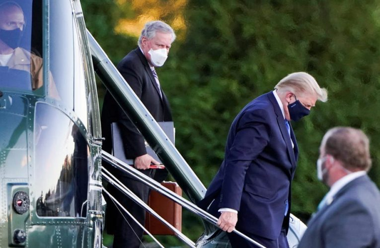 White House physician walks back a confusing timeline of Trump's coronavirus infection that implied he was diagnosed days before announcing his test results
