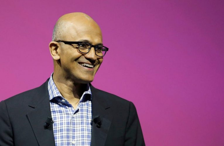 Microsoft CEO Satya Nadella's compensation will now be based 50% on whether he achieves goals like growing its cloud business and adding more Teams chat app users