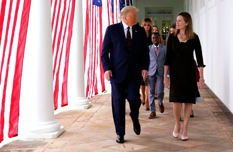 Amy Coney Barrett tested negative for coronavirus, last had contact with Trump on Saturday, White House says