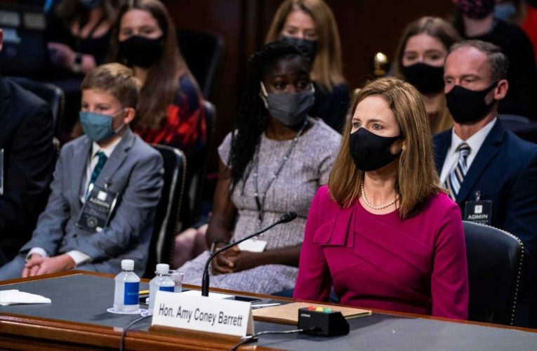 Trump looms large in Barrett hearing as Harris, Dems sound alarms over ObamaCare, election, coronavirus