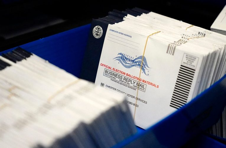 Pennsylvania's mail-in ballot postmark problem, USPS says there's room for error