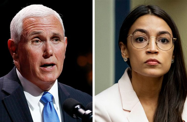 AOC to VP Pence: 'It's Congresswoman Ocasio-Cortez to you'