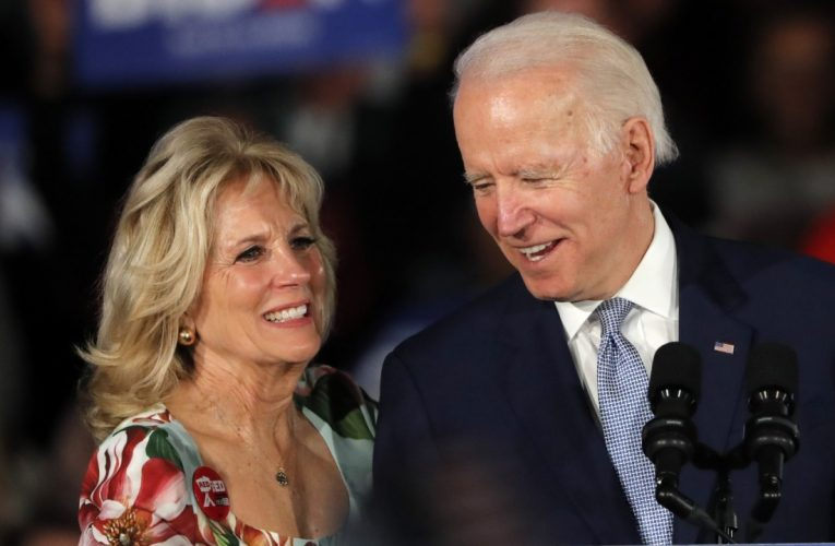 Joe Biden says he and Jill Biden tested negative for coronavirus