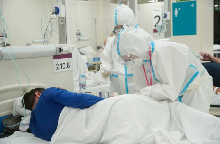 Russia's health system under strain as the coronavirus surges back