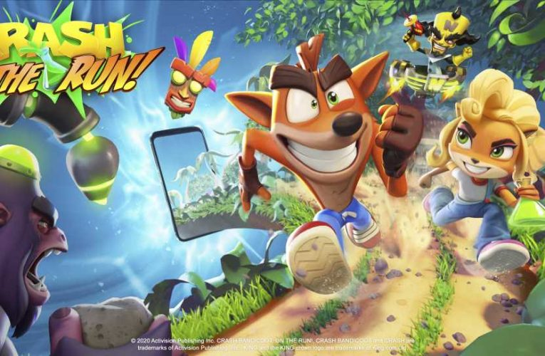 The creators of Candy Crush are banking on the Crash Bandicoot franchise for their next mobile hit