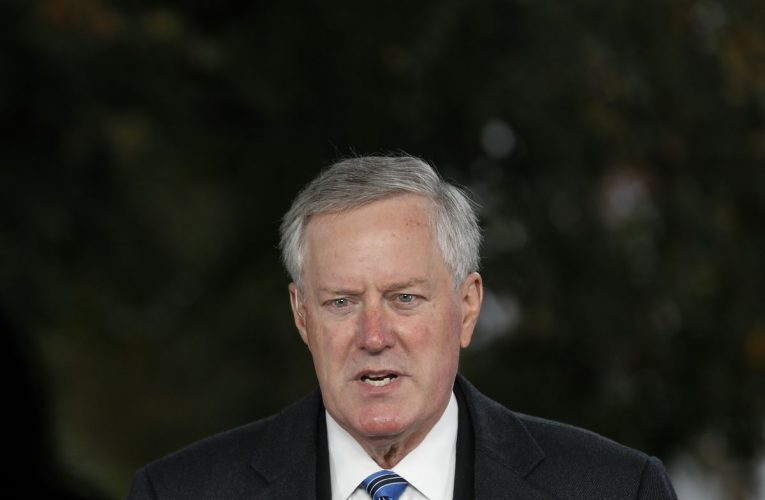Trump Chief of Staff Mark Meadows Infected With Coronavirus