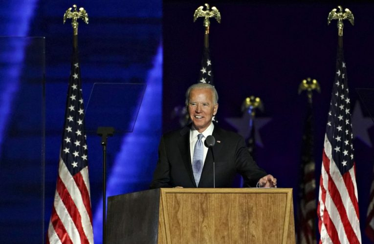Biden Declares Victory, Calls on Americans to Mend Divisions