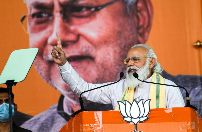 India's Modi Facing Likely Loss in First Vote Since Pandemic